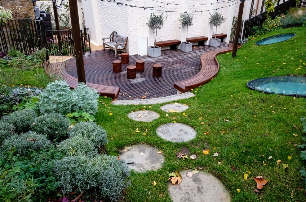 London courtyard garden landscape products
