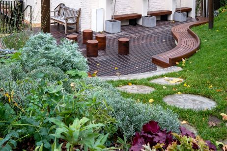 Landscaping products for London school