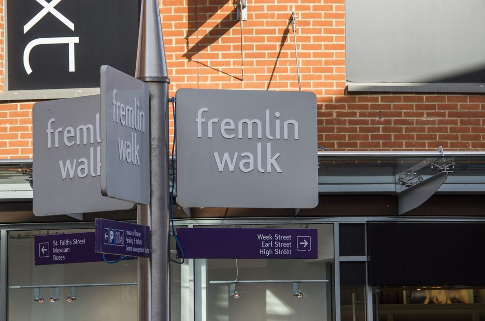 Taper Planters Commissioned By Fremlin Walk shopping centre