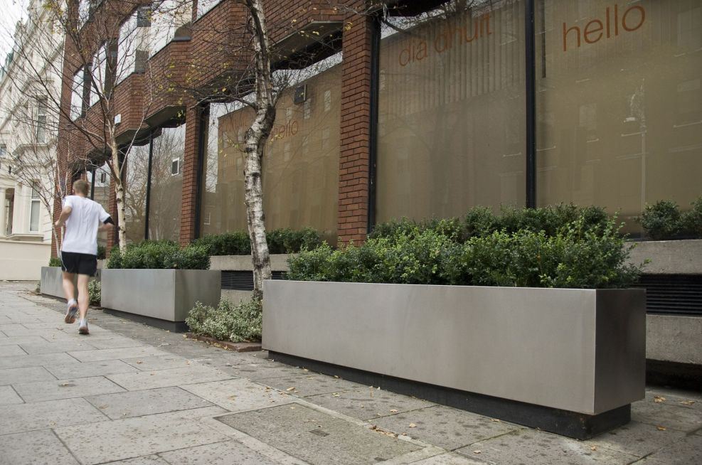 Stainless Steel Trough planters 1.5mm Thick