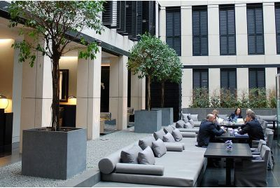 Granite Planters In Various Shapes And Sizes A The Grosvenor House Apartments, London