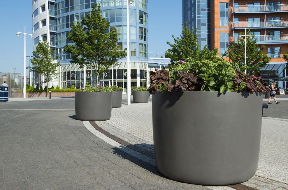 Boulevard Planters From The KYOTO Range