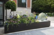 Corten Steel Planters Commissioned by Hampstead 'Super-Prime' Residential Development