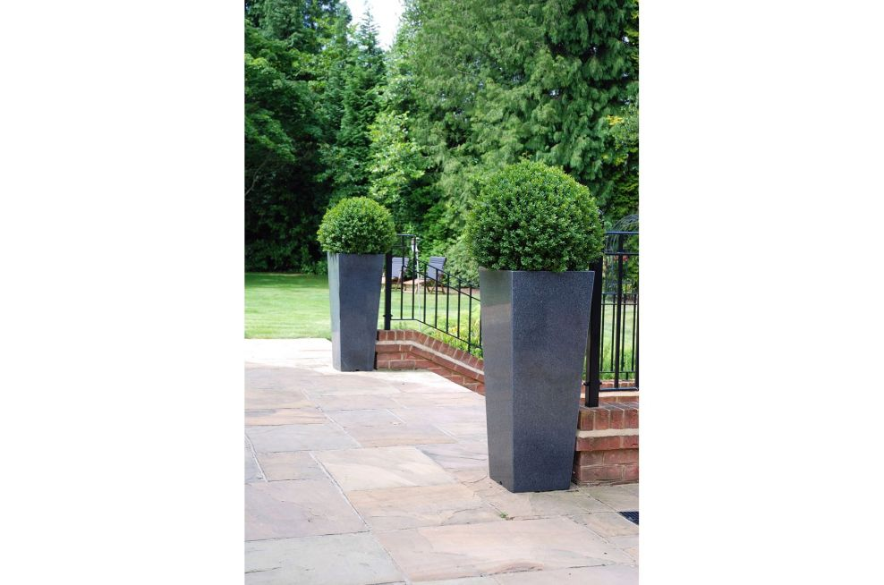 Tall Taper Extra Large Granite Planters