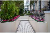 Custom design aluminum planters