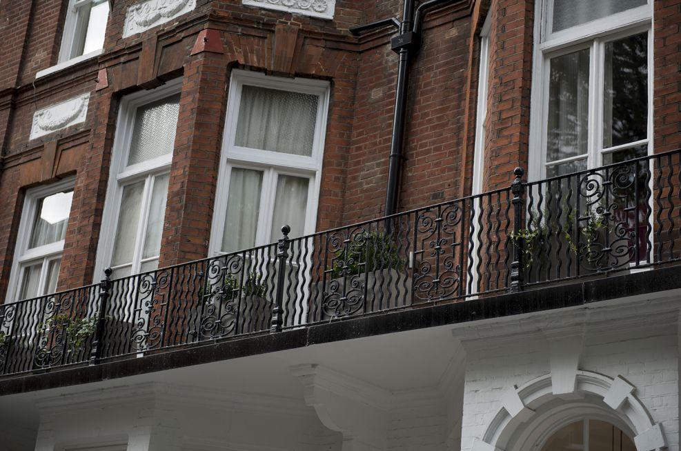 First Floor Terrace Planters