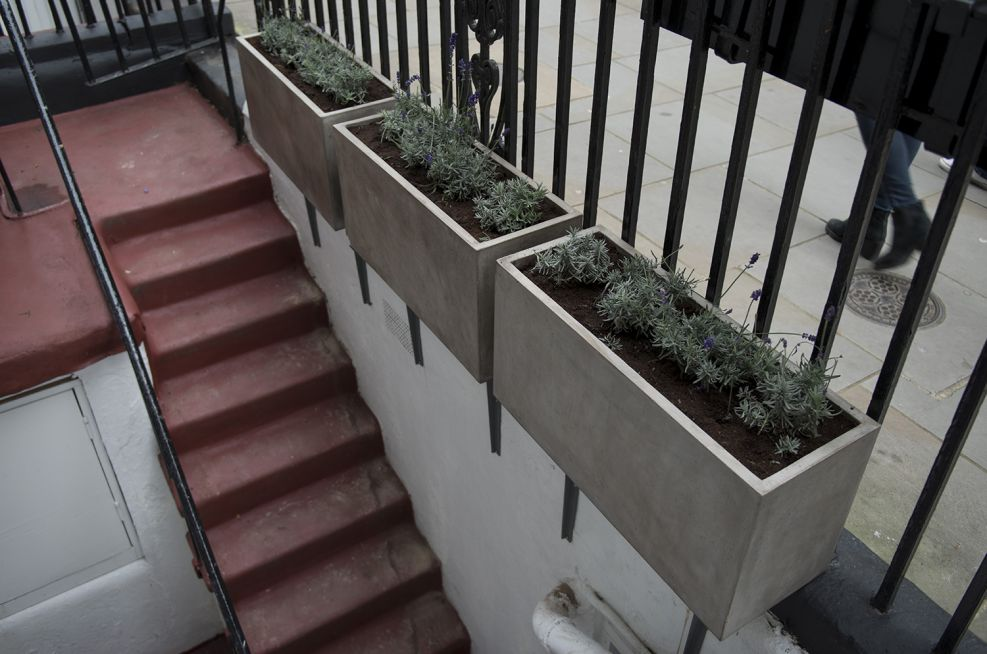 Fresco Cube and Trough Planters Of Various Sizes