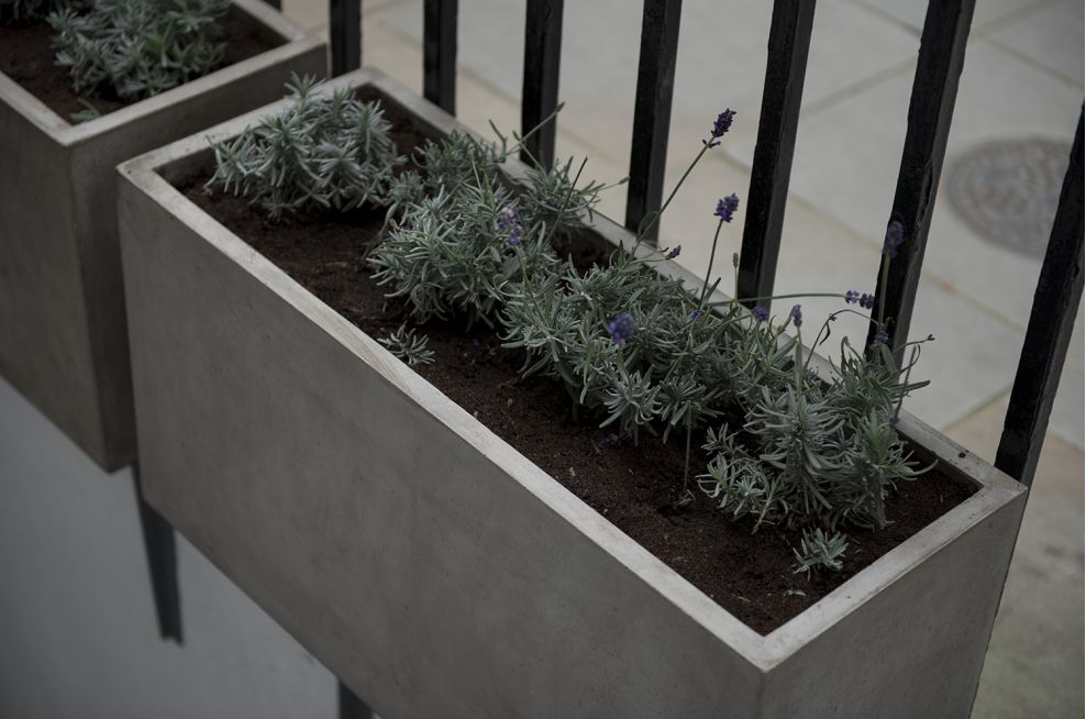 Hotel Planters Made In An Italian Style