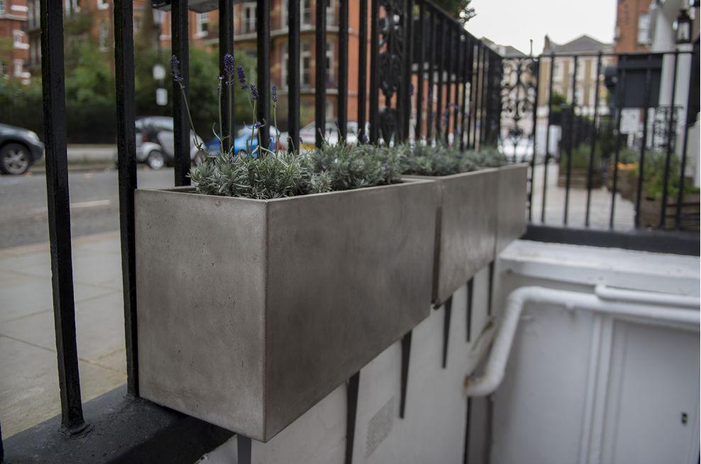 IOTAs Fresco Planters For Hotel Indigo London Kensington