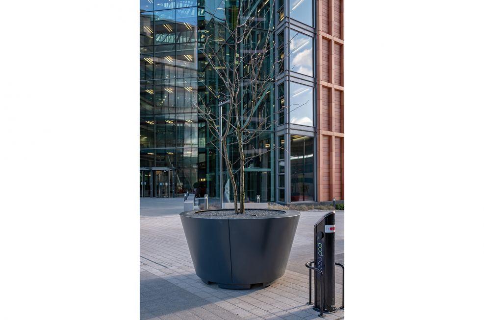 Public realm tree planters
