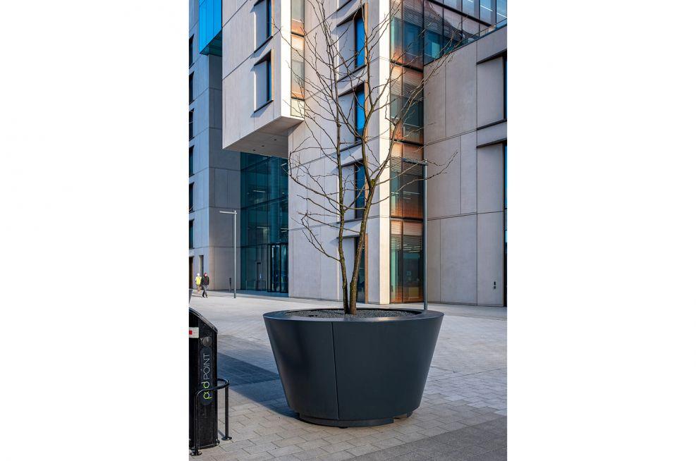 Statement tree planter