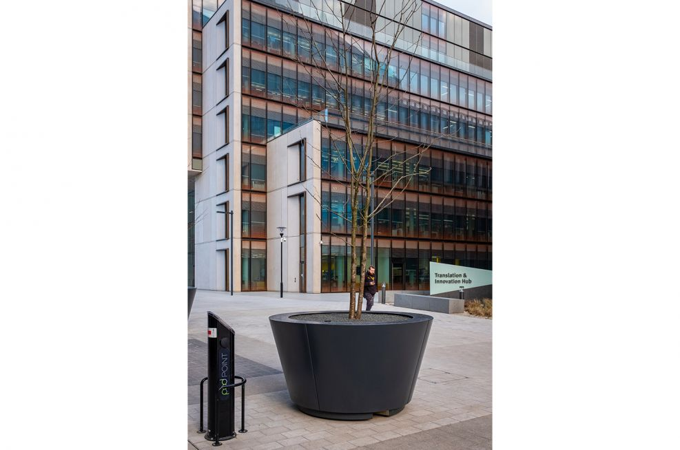 Extra large conical planters
