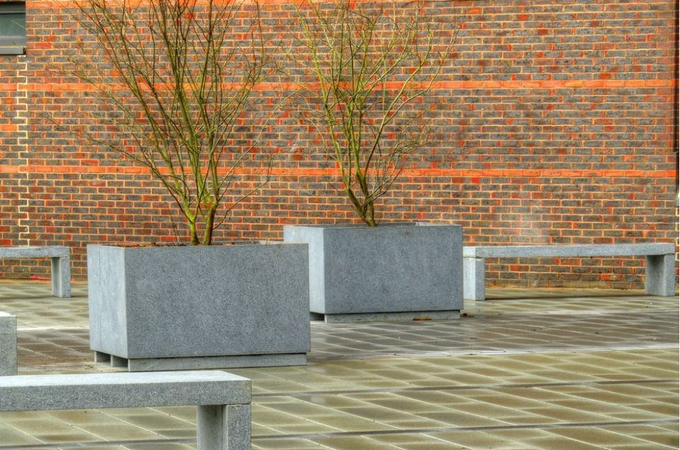 Bespoke Granite Planters And Benches