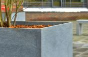 Bespoke Tree planters And Benches Made From Granite
