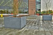 IOTA Granite Benches and Planters