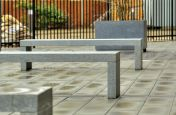 Matching Benches and Planter Combinations