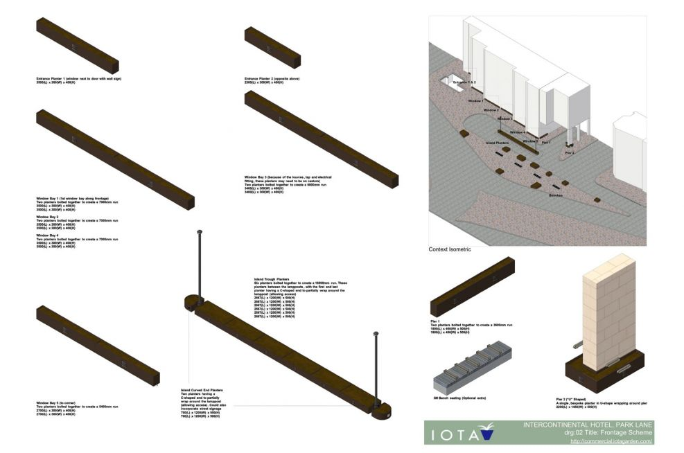 Landscaping Plans For Intercontinental Hotel