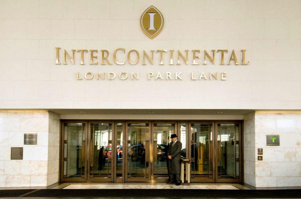 Planters At Intercontinental Hotel, Park Lane