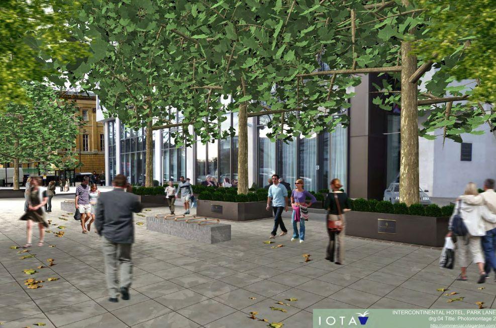 Tree Planter Alternative Visualisation Planting