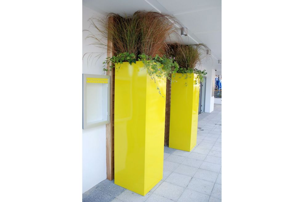 Pantone 605 Gloss Finish Planters