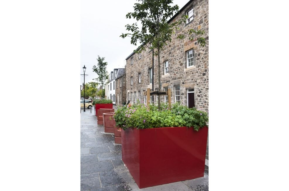 John Gray Centre Powder Coated Steel Planters