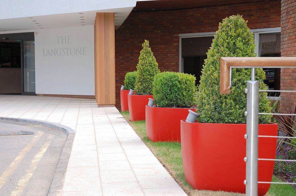 OSAKA Boulevard Planters at The Langstone Hotel, Portsmouth