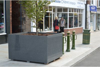 Bespoke Granite Tree Planters Leek, Staffordshire