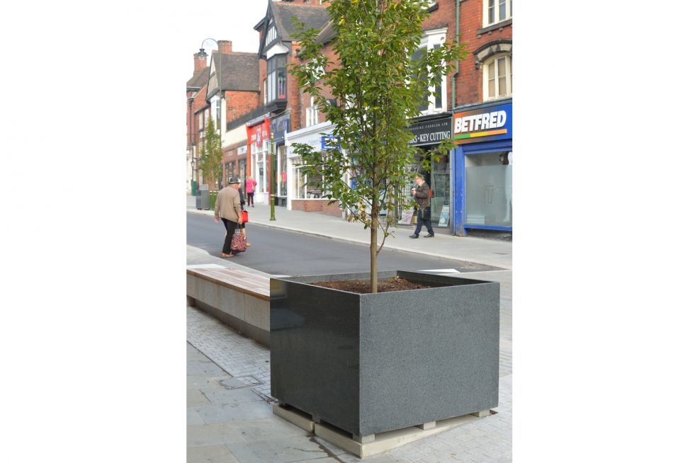 Tree Planters Made From Granite