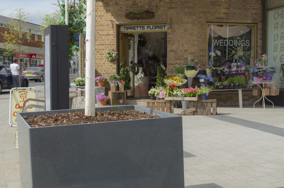 Bespoke Granite Tree Planters