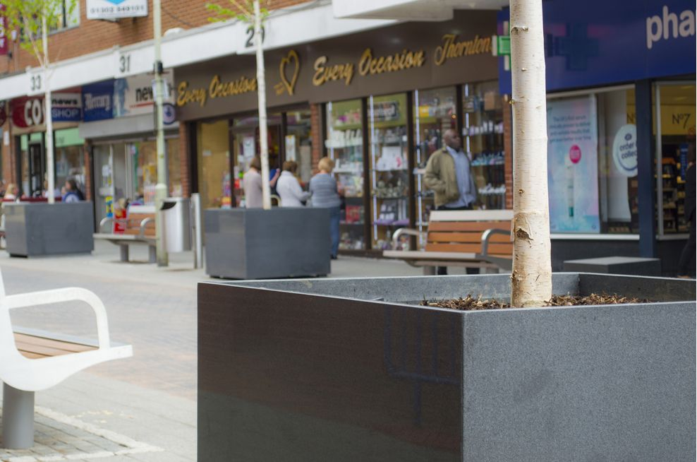 Street Planters For Leicestershire County Council