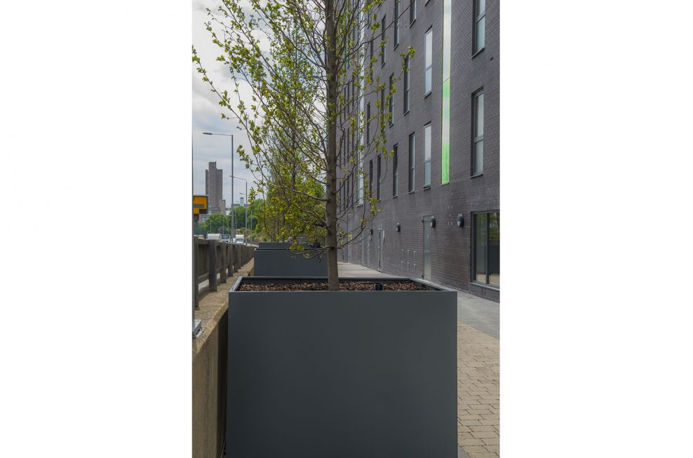 IOTA Steel Tree Planters Commissioned By Telford Homes