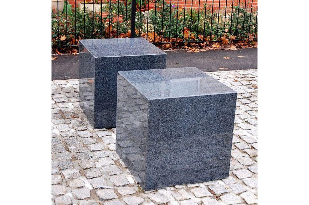 Close Up Of Custom Granite Seats
