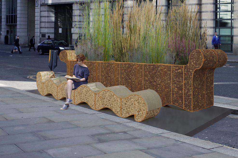 London Festival of Architecture Custom Planter