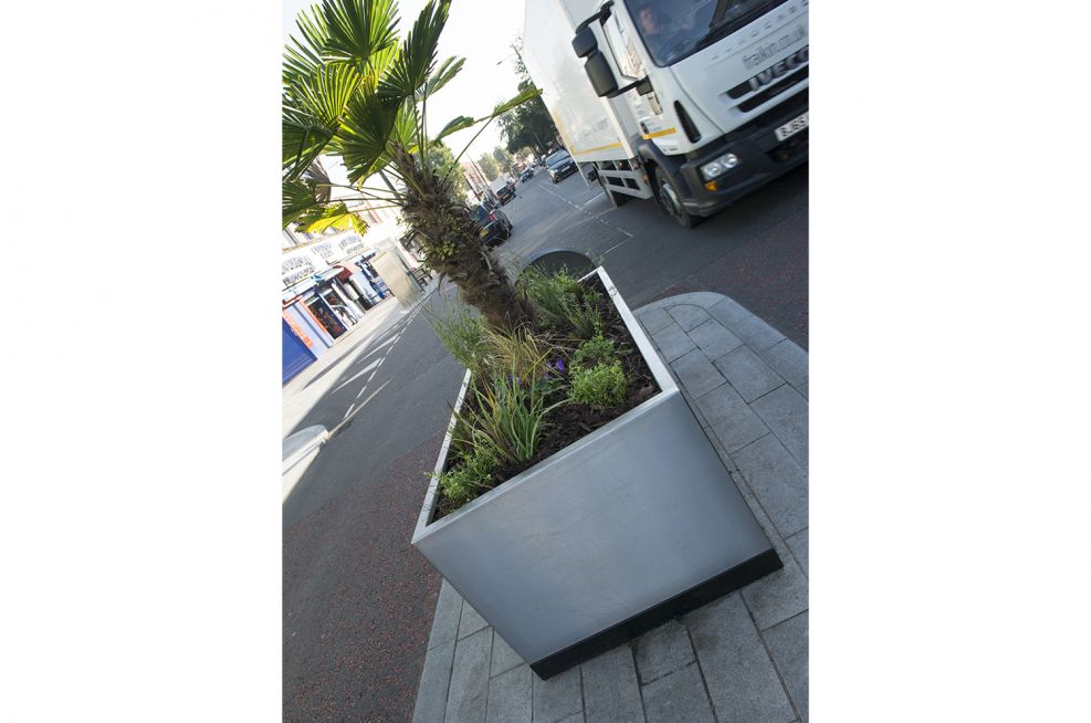 3mm 304 Stainless Steel Planters With Brushed Finish