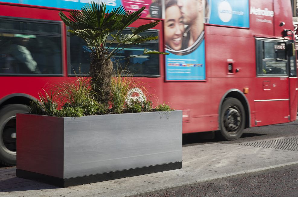 Ealing Council Commissioned Steel Street Planters