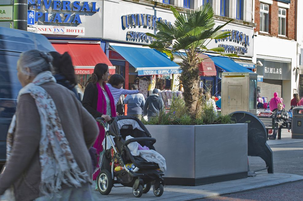 Streetscape Planter Improvements To Southall Broadway
