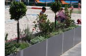Beach Volleyball Court Fibre Reinforced Cement Planters