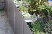 Delta Carat planters At The Malborough Sports Garden