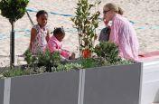 Delta Carat Planters At Marlborough Sports Garden, London