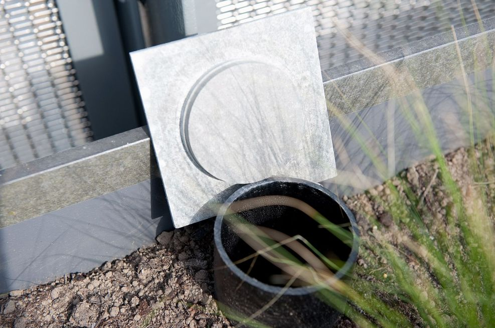 Inbuilt Resevoir System Incorporated Into The Planters