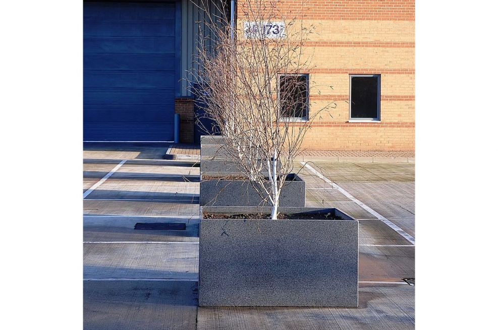 Granite Planters Suitable For Trees