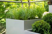 Bespoke Steel Planter Modules At The Modular Garden, London N7