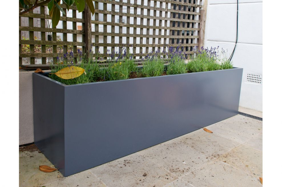 Front Of House Steel Powder Coated Planters
