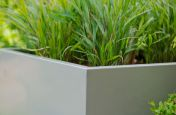 Powder Coated Pebble Grey Planters