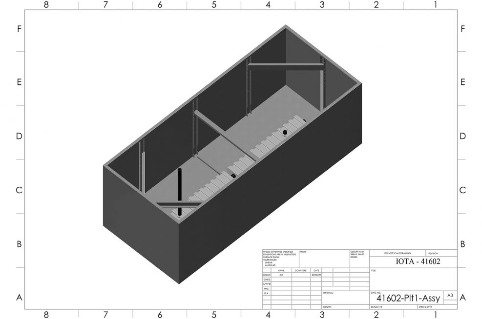 Reinforced trough planter design