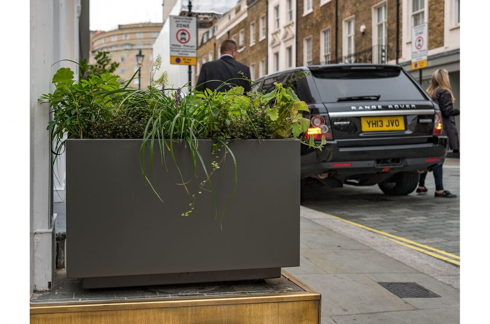 Planters for public realm spaces