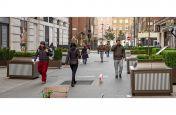 Decorative planters for public street
