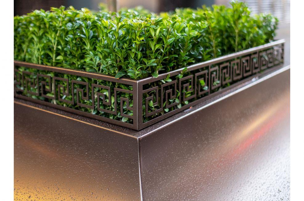 Bespoke design decorative planter
