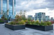 Extra large terrace planters
