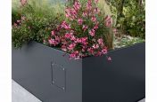 Bespoke planters with integrated access panel